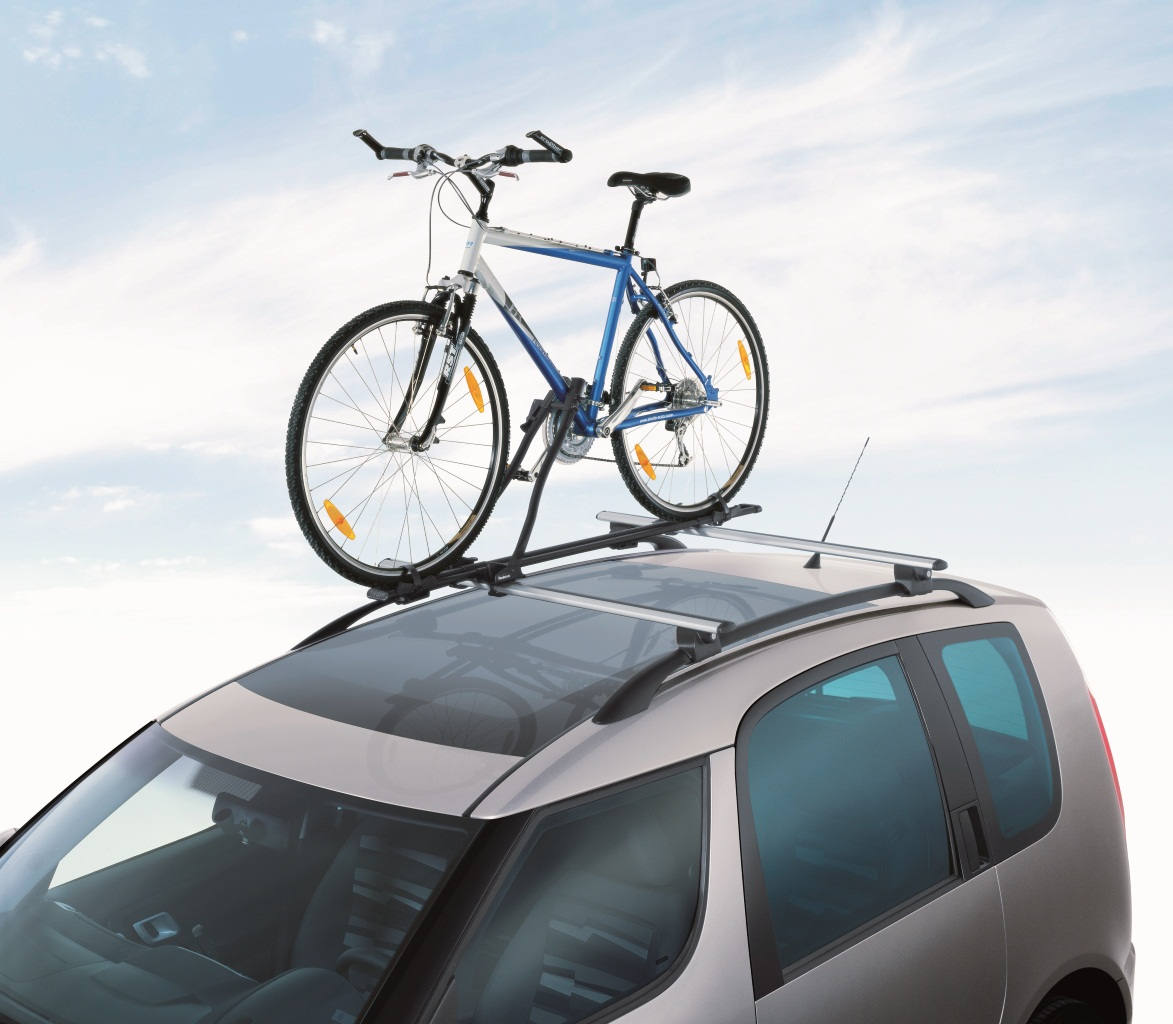 Fahrradträger mit Metallprofil